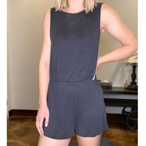 Urban Outfitters cross-back romper